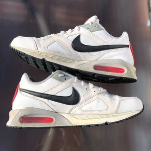 NIKE AIR MAX IVO LTR 580520 100 White Red Running